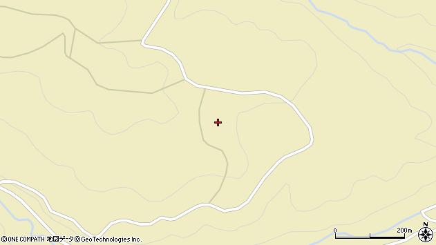 大分県国東市安岐町山口中津尾台周辺の地図