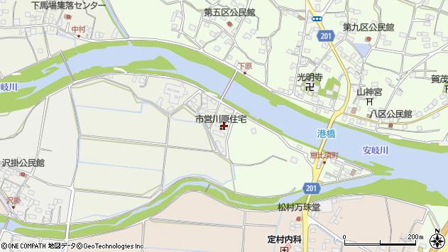 大分県国東市安岐町馬場2704周辺の地図
