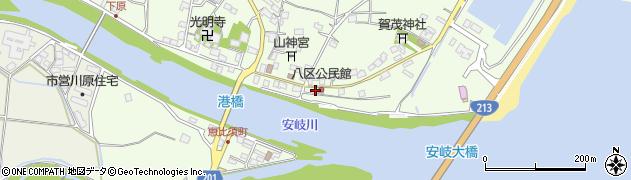 大分県国東市安岐町下原2441周辺の地図