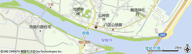 大分県国東市安岐町下原2463周辺の地図