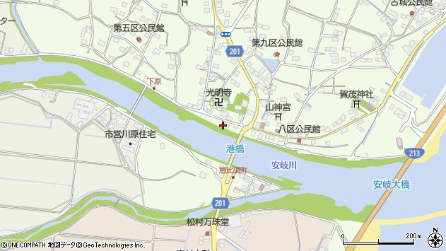 大分県国東市安岐町下原2508周辺の地図