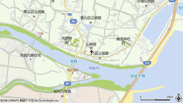 大分県国東市安岐町下原2249周辺の地図