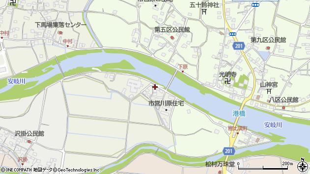 大分県国東市安岐町馬場864周辺の地図