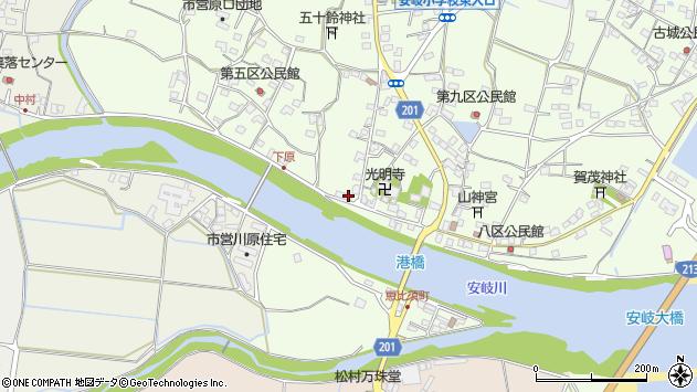 大分県国東市安岐町下原2666周辺の地図