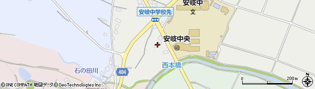 大分県国東市安岐町中園380周辺の地図