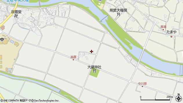 大分県国東市安岐町中園735周辺の地図