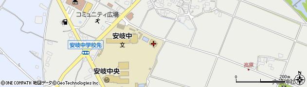大分県国東市安岐町中園345周辺の地図
