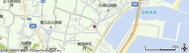 大分県国東市安岐町下原2221周辺の地図