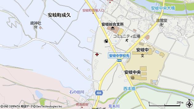 大分県国東市安岐町中園144周辺の地図