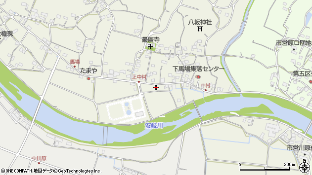 大分県国東市安岐町馬場732周辺の地図
