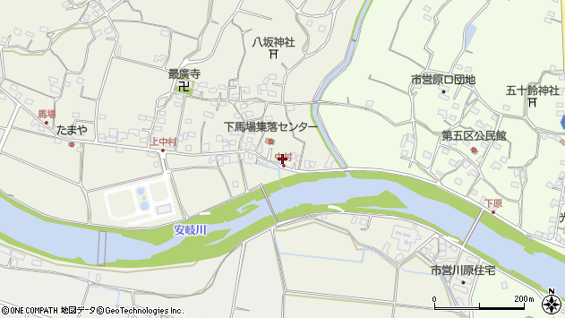 大分県国東市安岐町馬場674周辺の地図