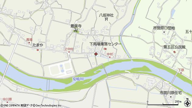 大分県国東市安岐町馬場862周辺の地図