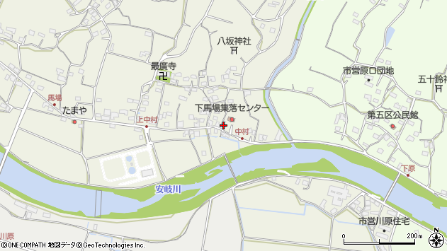 大分県国東市安岐町馬場696周辺の地図