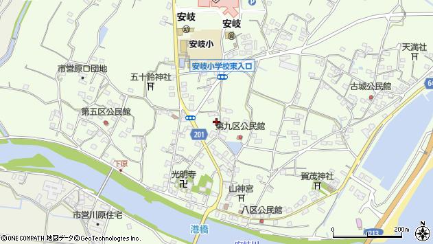 大分県国東市安岐町下原2536周辺の地図