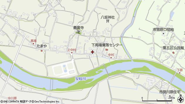 大分県国東市安岐町馬場722周辺の地図