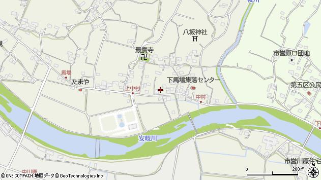 大分県国東市安岐町馬場724周辺の地図