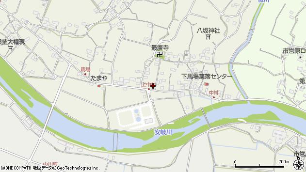 大分県国東市安岐町馬場747-2周辺の地図