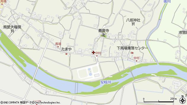 大分県国東市安岐町馬場750周辺の地図