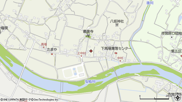大分県国東市安岐町馬場735周辺の地図