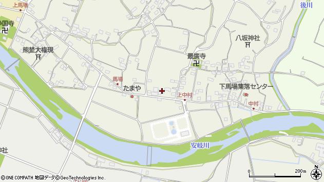 大分県国東市安岐町馬場815周辺の地図