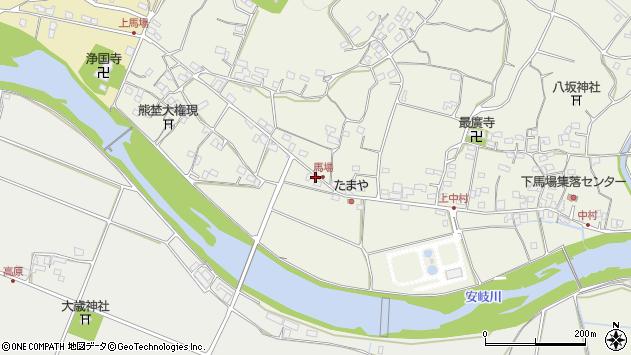 大分県国東市安岐町馬場1362周辺の地図