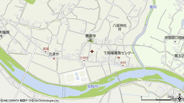 大分県国東市安岐町馬場737周辺の地図