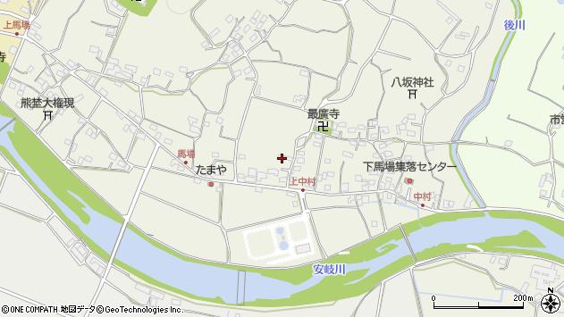 大分県国東市安岐町馬場770周辺の地図