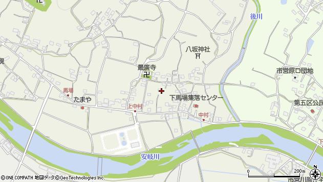 大分県国東市安岐町馬場712周辺の地図