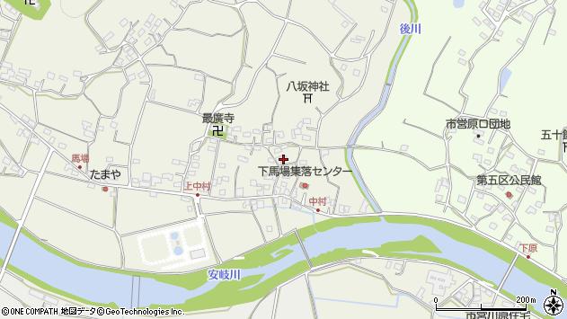 大分県国東市安岐町馬場704周辺の地図
