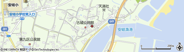 大分県国東市安岐町下原3151周辺の地図