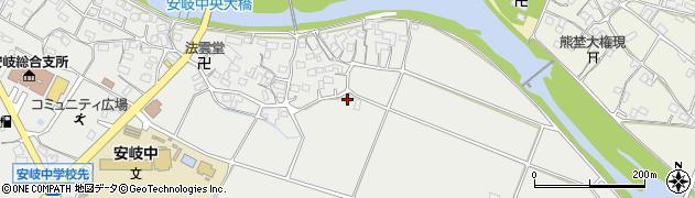 大分県国東市安岐町中園625周辺の地図