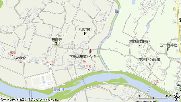 大分県国東市安岐町馬場643周辺の地図
