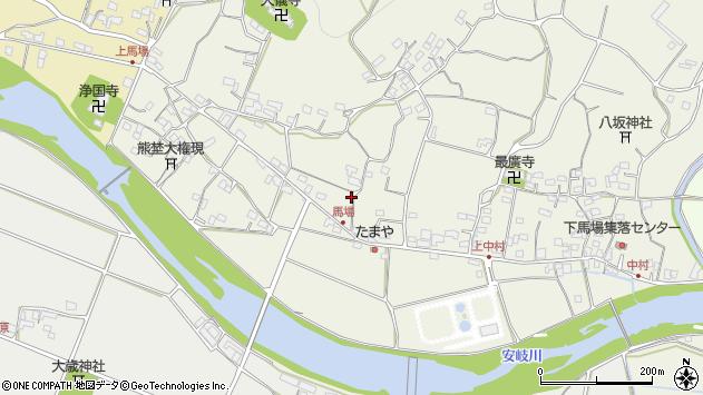 大分県国東市安岐町馬場1300周辺の地図