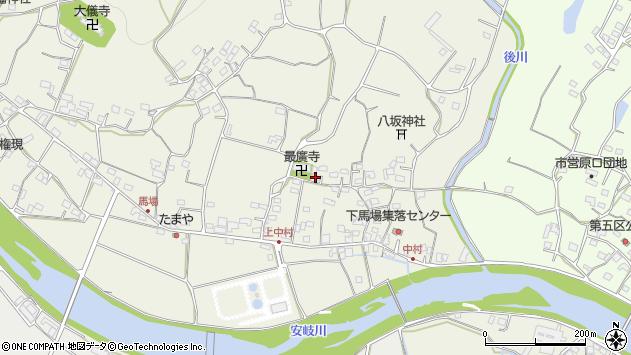 大分県国東市安岐町馬場565周辺の地図