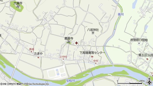 大分県国東市安岐町馬場572周辺の地図