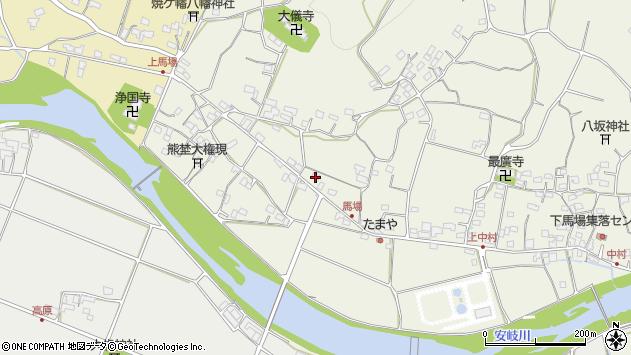 大分県国東市安岐町馬場1343周辺の地図