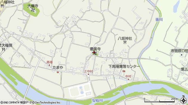 大分県国東市安岐町馬場564周辺の地図
