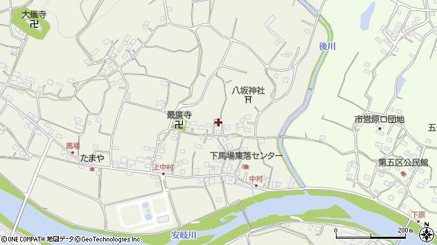 大分県国東市安岐町馬場578周辺の地図