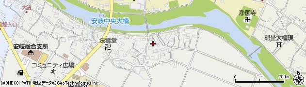 大分県国東市安岐町中園524周辺の地図