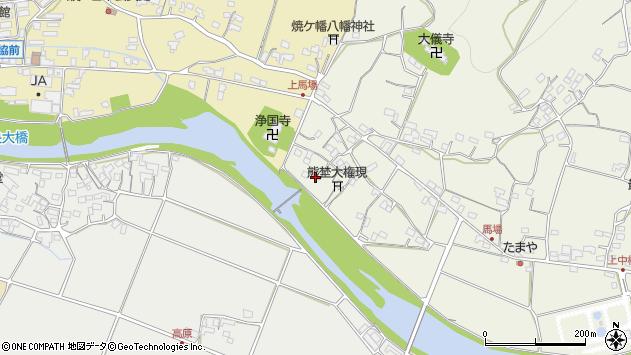 大分県国東市安岐町馬場1253周辺の地図