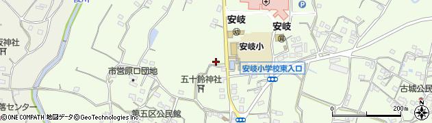 大分県国東市安岐町下原2052周辺の地図