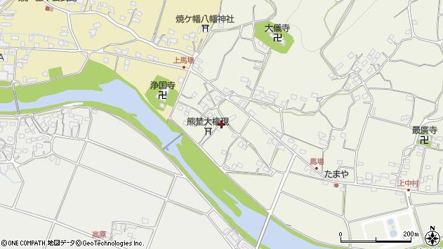 大分県国東市安岐町馬場1237周辺の地図