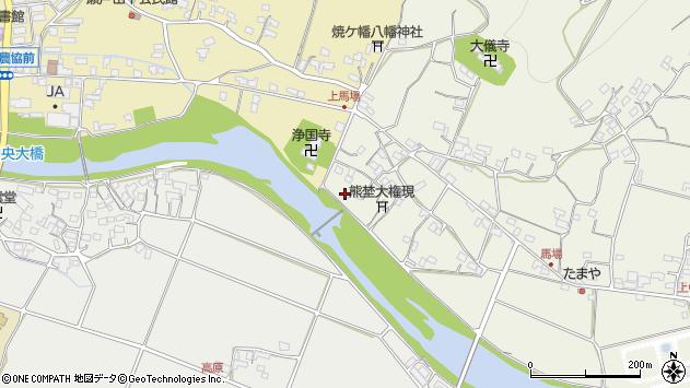 大分県国東市安岐町馬場1257周辺の地図