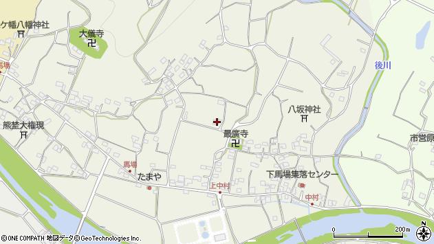 大分県国東市安岐町馬場1435周辺の地図
