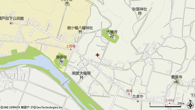 大分県国東市安岐町馬場1590周辺の地図
