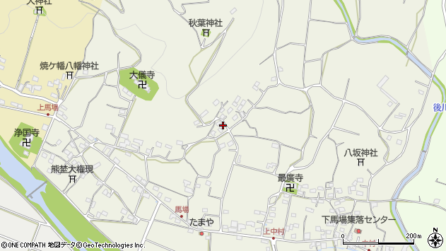 大分県国東市安岐町馬場1525周辺の地図
