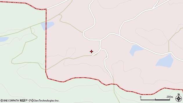 大分県国東市安岐町山浦1627周辺の地図