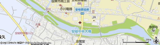 大分県国東市安岐町瀬戸田679周辺の地図