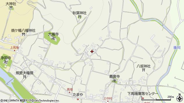 大分県国東市安岐町馬場1518周辺の地図