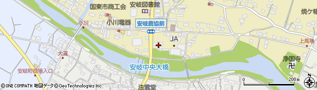 大分県国東市安岐町瀬戸田669周辺の地図